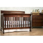 Kalani 4-in-1 Convertible Crib with Toddler Rail in Espresso