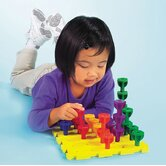 Rainbow Peg Play Activity Set