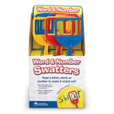 Word and Number Swatters in POP Display (Set of 12)