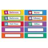 Magnetic Hall Passes (Set of 10)