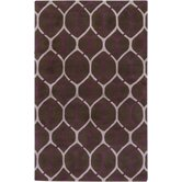 Mosaic Chocolate/Tan Barrier Rug