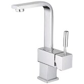 Single Hole Bathroom Faucet with Single Lever Handle