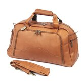 "Weekender 19"" Leather Carry-On Duffel"