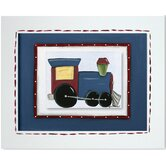 Transportation Train Framed Giclee Wall Art