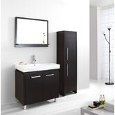 "Harmen Single 32"" Bathroom Vanity Set in Espresso"