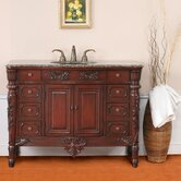 Socotra Single 48&quot; Bathroom Vanity in Antique Cherry