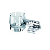 Standard Hotel Tumbler and Toothbrush Holder in Chrome