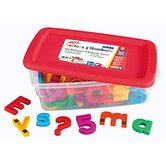Jumbo AlphaMagnets and MathMagnets Combo Set - Multicolored
