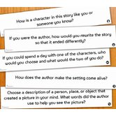 Book Blog Writing Activity Center
