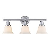 Berwick  Vanity Light  in Polished Chrome