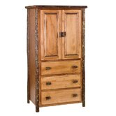 Hickory Armoire