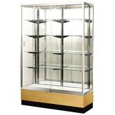 Streamline 60&quot; x 18&quot; Trophy Case with Panel Back