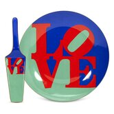 Robert Indiana Love Cake Plate