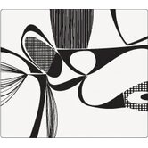 Matrix Placemat in Black on Clear Base