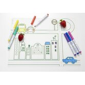 DwellStudio City Transportation Six Dry Erase Markers Kidz Box