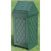 Swing Top 15 - 22 Gal Diamond Trash Receptacle