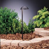 Textured Black Side Mount Landscape Path Light