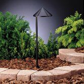 Groove Side Mount Path Lights in Textured Architectural Bronze