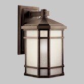 Cameron 200W  Outdoor Wall Lantern in Pairie Rock