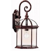 Outdoor Wall Lantern in Tannery Bronze