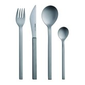 Mono-A Edition 50 4-Piece Set in Brushed Titanium by Peter Raacke