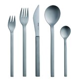 Mono-A Edition 50 5-Piece Set in Brushed Titanium by Peter Raacke