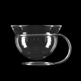 Mono Filio Glass Teacups without Saucer (Set of 2) by Tassilo von Grolman