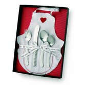 Gift Ideas Bonito 99 Stainless Steel Child's Cultery Set inGift Box