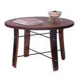 Round Stave Coffee Table