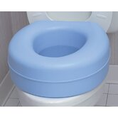 "Plastic 5"" Raised Toilet Seat"