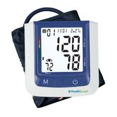 Healthsmart Premium Talking Automatic Digital Blood Pressure Monitor in Blue