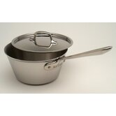 Stainless 2.5-qt. Saucepan with Lid