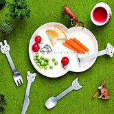 Children's 4 Piece Animal Friends Flatware Set
