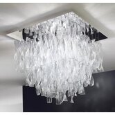 Avir Double Layered 4 Light Semi Flush Mount