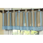 Mod Dots Blue Collection Window Valance