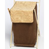 Camel Paisley Collection Laundry Hamper
