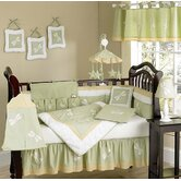 Green Dragonfly Dreams Collection 9pc Crib Bedding Set
