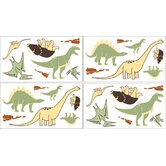 Dinosaur Land Collection Wall Decal Stickers