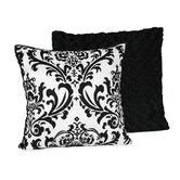 Isabella Black and White Collection Decorative Pillow