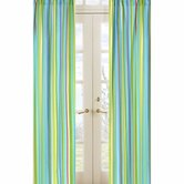 Layla Collection Window Panels  - Stripe Print