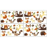 Forest Friends Collection Wall Decal Stickers