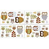 Owl Collection Wall Decal Stickers