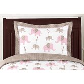 Elephant Pink Collection Standard Pillow Sham