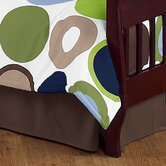 Designer Dot Collection Toddler Bed Skirt