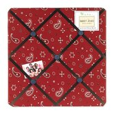 Wild West Cowboy Collection Memo Board  - Bandana Print