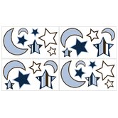 Starry Night Collection Wall Decal Stickers