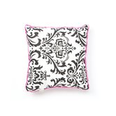 Isabella Hot Pink, Black and White Collection Decorative Pillow