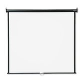 Wall or Ceiling Projection Screen in White Matte with Black Matte Casing