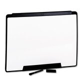 "Motion Portable Dry-Erase Board in White with Black Frame 36"" W x 24"" H"
