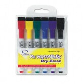 Rewritables Dry Erase Mini-Markers, (Set of 6)